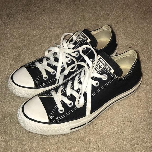 74ada774c874 Converse Shoes - Converse all star black size 6 men s 8 women s